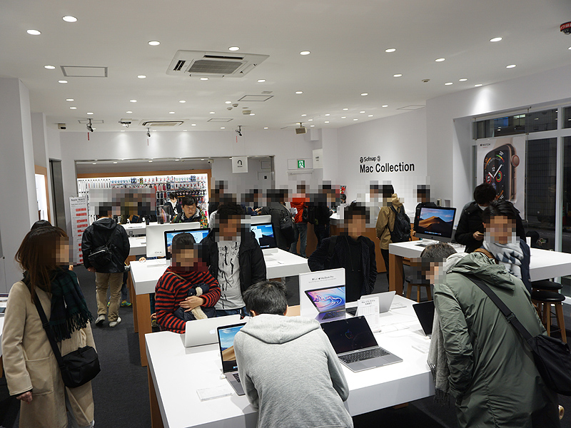"<a href=""https://www.sofmap.com/tenpo/contents/?id=shops&sid=akiba03"" class=""deliver_inner_content i"">ソフマップAKIBA③号店 Mac Collection</a>の様子"
