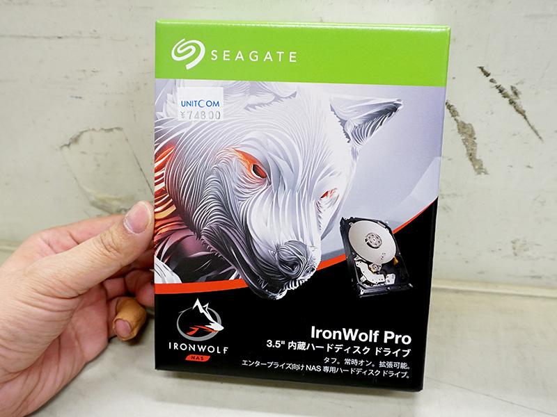 Seagate「IronWolf Pro」の14TBが登場