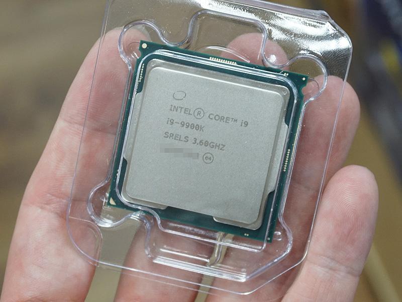 Core i9-9900Kのバルク品