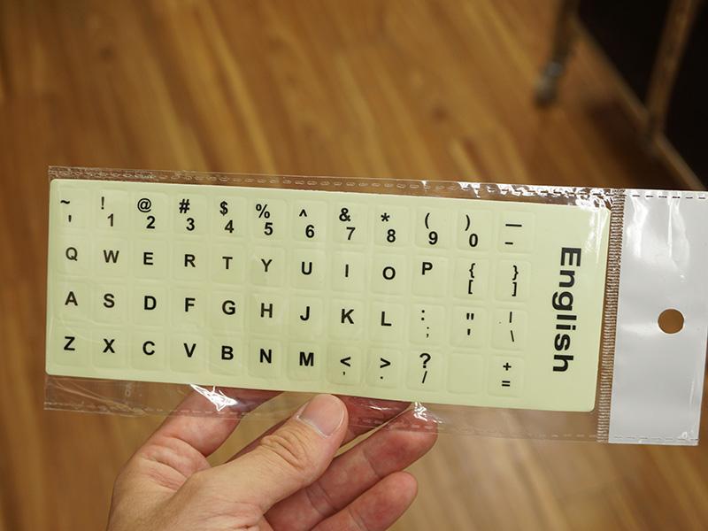 英語キーボード用