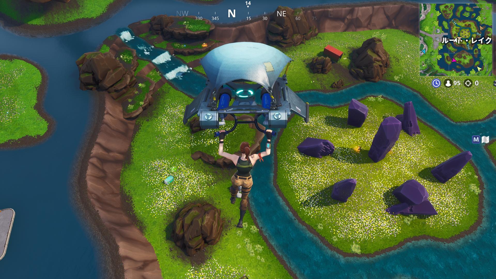 人気のバトルロイヤルゲーム「フォートナイト」でGeForce GTX 1660の性能をチェック。