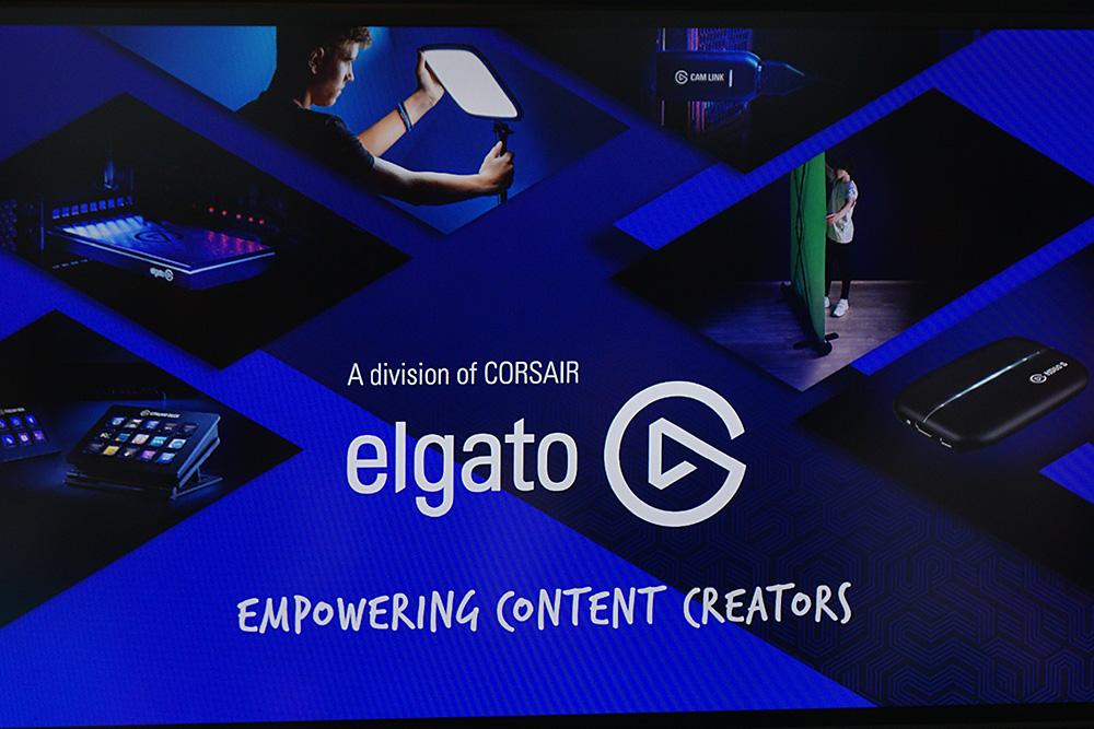 CORSAIRの1部門となったElgato。