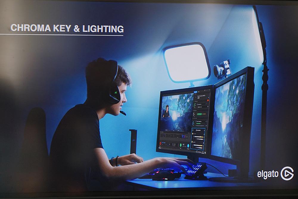 省スペースで照らすことができる。照明もLEDを使用しているため発熱が少ないという。