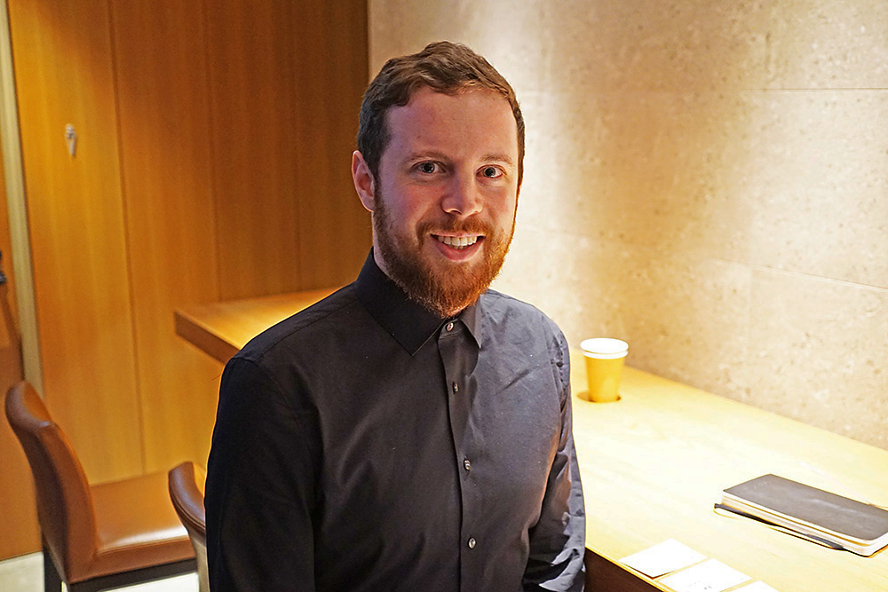CORSAIRでElgato Partnership managerを務めるTom Hildreth氏。