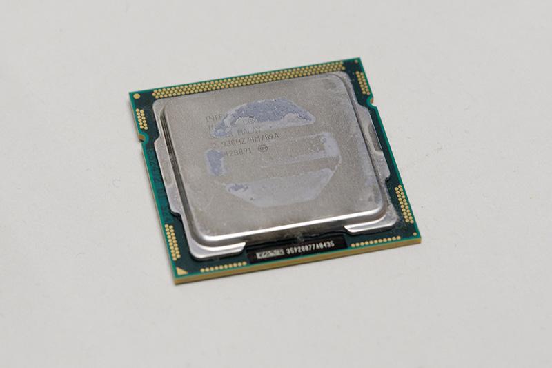旧自作PCに装着していたCore i3 530。