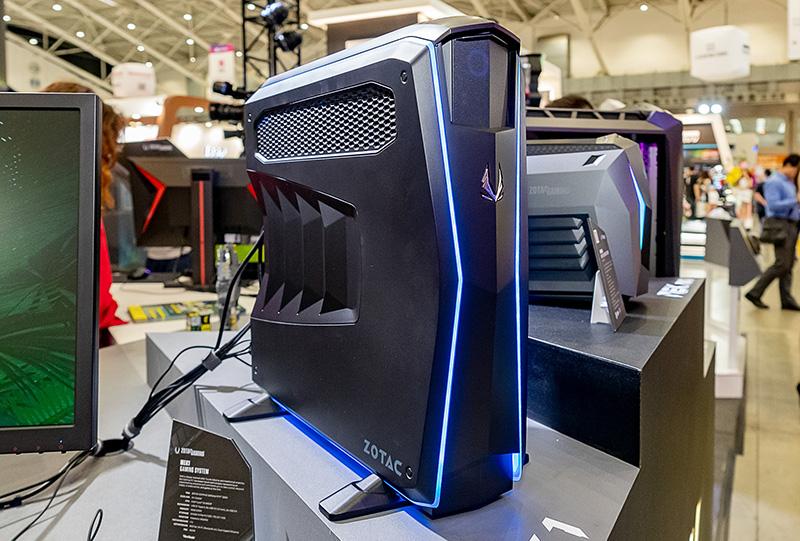 ミドルレンジモデルの「MEK1」。Core i5-9400F、GeForce GTX 2060を搭載する。日本発売は未定だ