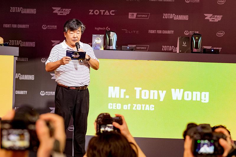 ZOTAC CEOのTony Wong氏
