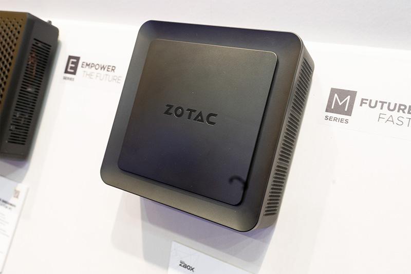 ストリーマー向けミニC「ZBOX M」。AVerMediaのキャプチャーカードを内蔵している