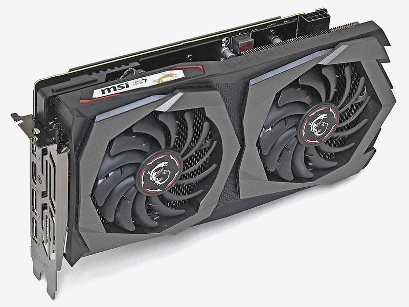 GPUにGeForce RTX 2060 SUPERを搭載するMSIのGeForce RTX 2060 SUPER GAMING X。実売価格は62,000円前後