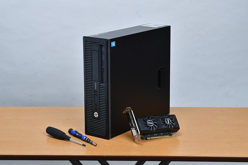 中古PCと新品ビデオカードを組み合わせれば格安でゲーミングPCを手にできる