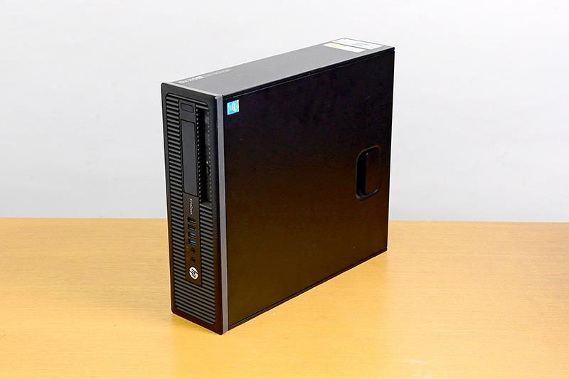 今回購入した中古PCはHPの「EliteDesk 800 G1 SF」。第4世代のCore i5を搭載しながら、2万円以下で購入できた
