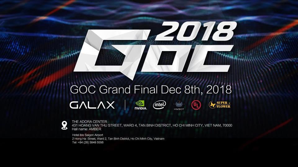 主催のGALAX以外にも有名パーツメーカーがスポンサーとなっています。