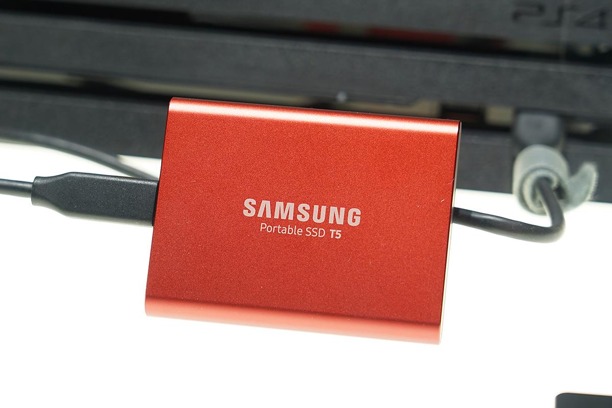 Portable SSD T5 Metallic Red