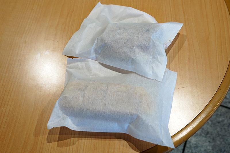 「メガドラパッド焼き」と「セガロゴ焼き」はセットで販売、税込み500円