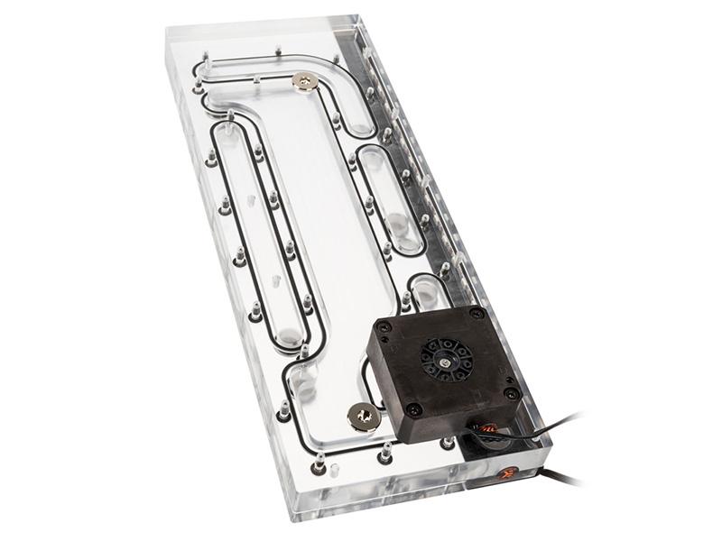 O11D DISTRO-PLATE G1(ポンプ搭載の水路一体型リザーバー)