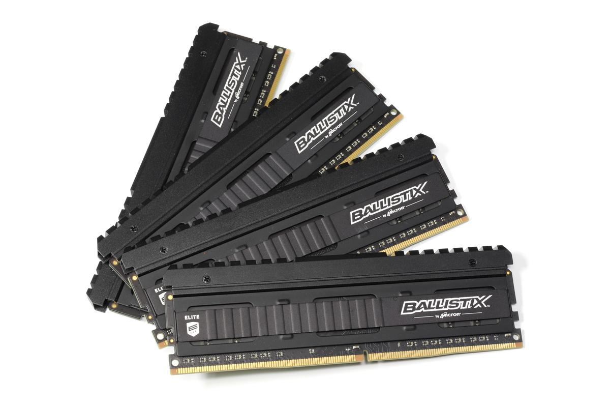 オーバークロックメモリを使用する場合は、使用したい枚数/容量がセットになったメモリキットを選ぼう。