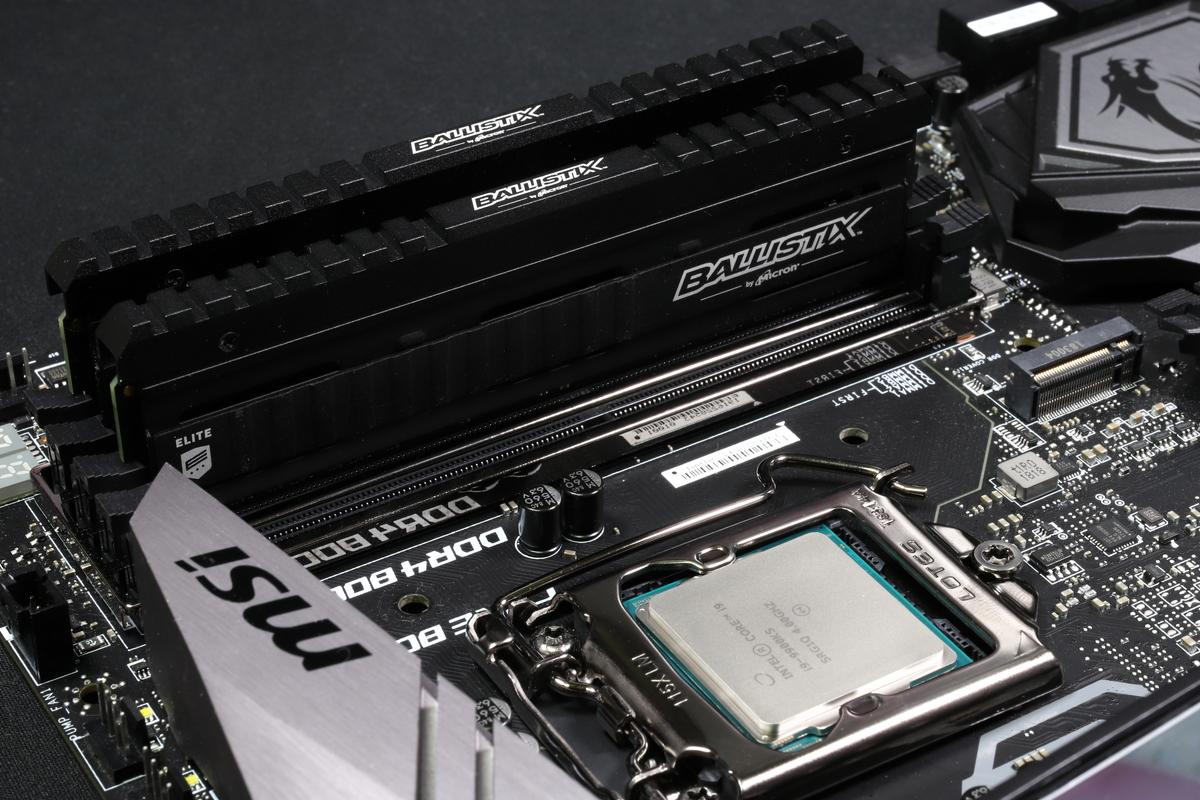 Core i9-9900KS/MSI MEG Z390 ACE(Intel Z390)環境でOCメモリの効果をテストしてみた。
