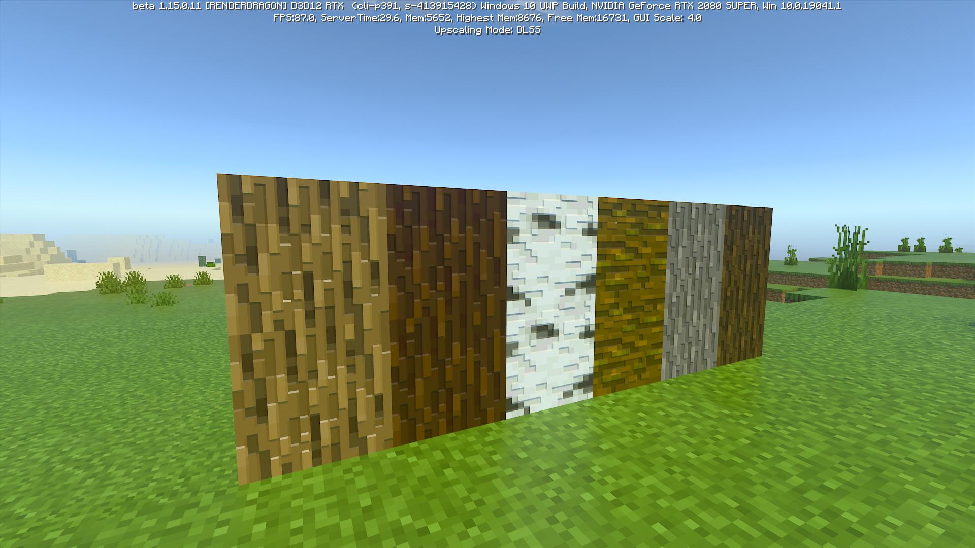 木のテクスチャも何種類か作り、それぞれでこぼこの表現を追加しているという