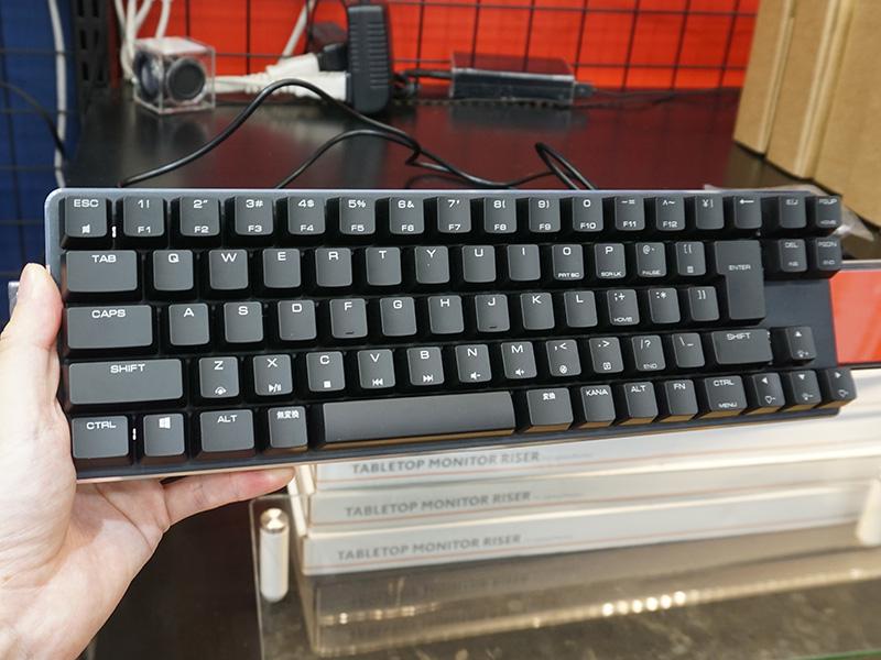 日本語73キー コンパクトメカニカルキーボード