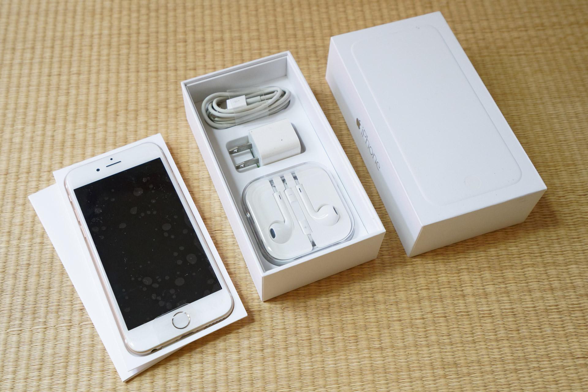 本体代金一括払いで購入したiPhone 6を買取に、事前の目安では5,500円だった。