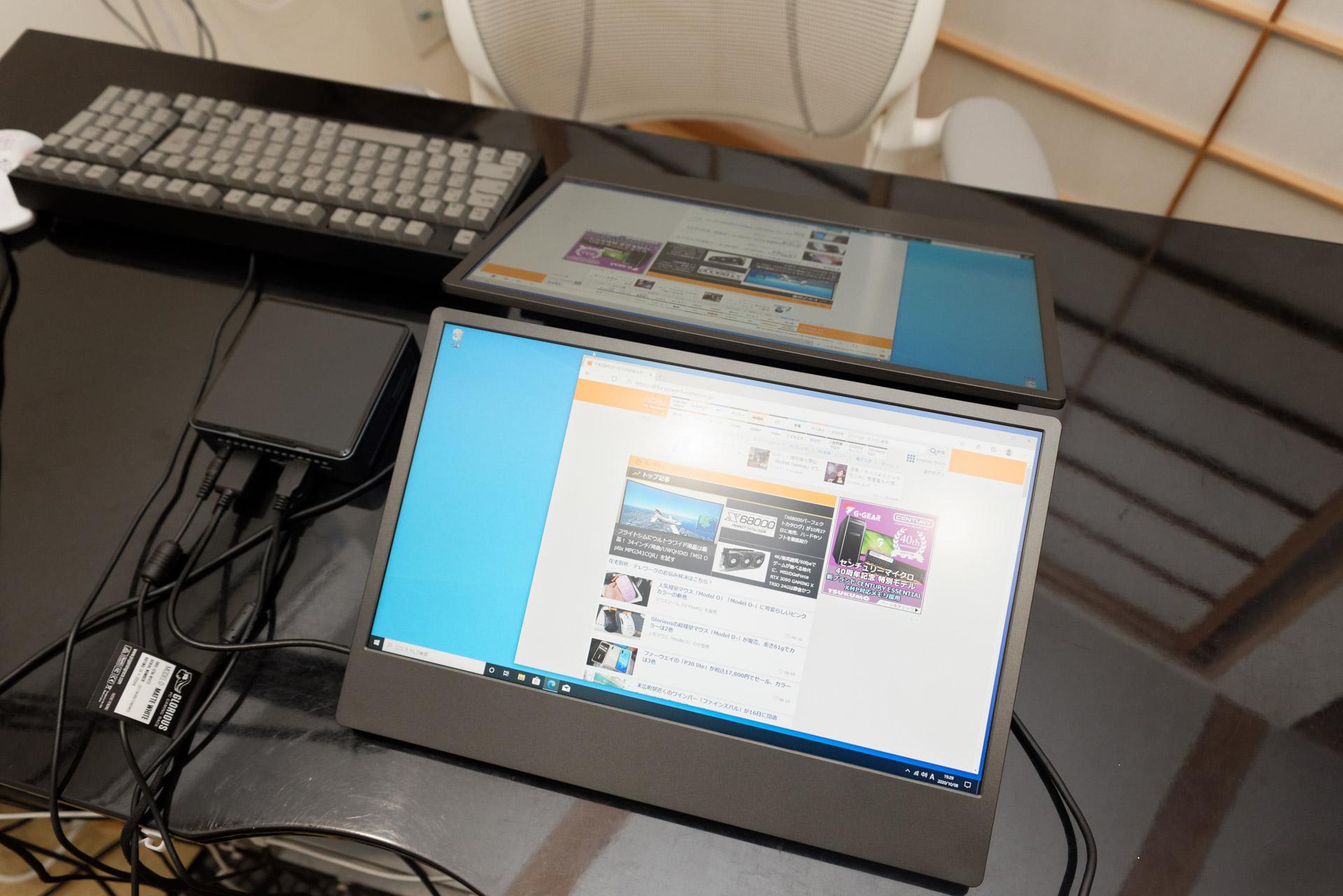 対面のミーティングや受付業務に、HDMIループ機能が使える