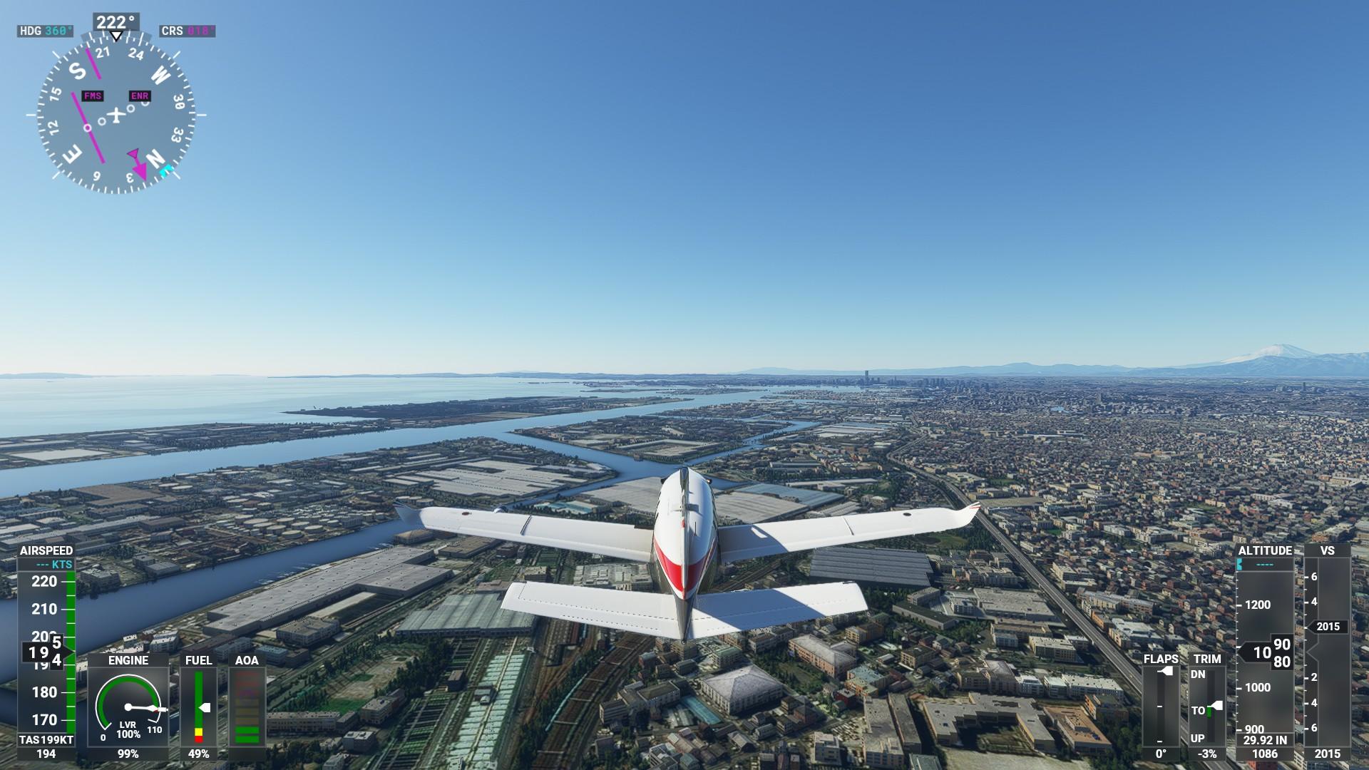 Microsoft Flight Simulator<br>Microsoft Studios(C)2020 Microsoft Corporation