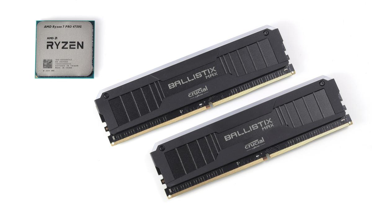 Ryzen PRO 4000シリーズAPUにオーバークロックメモリを組み合わせてパフォーマンスをテストしてみた。