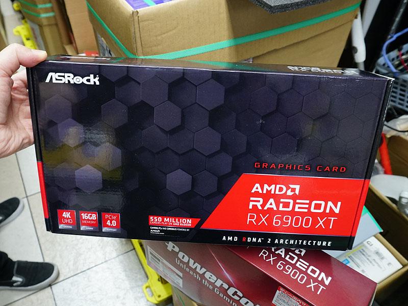 ASRock「RADEON RX6900 XT 16G」