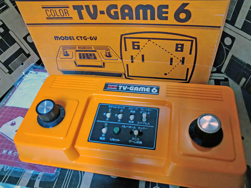 カラーテレビゲーム6(CTG-6V)