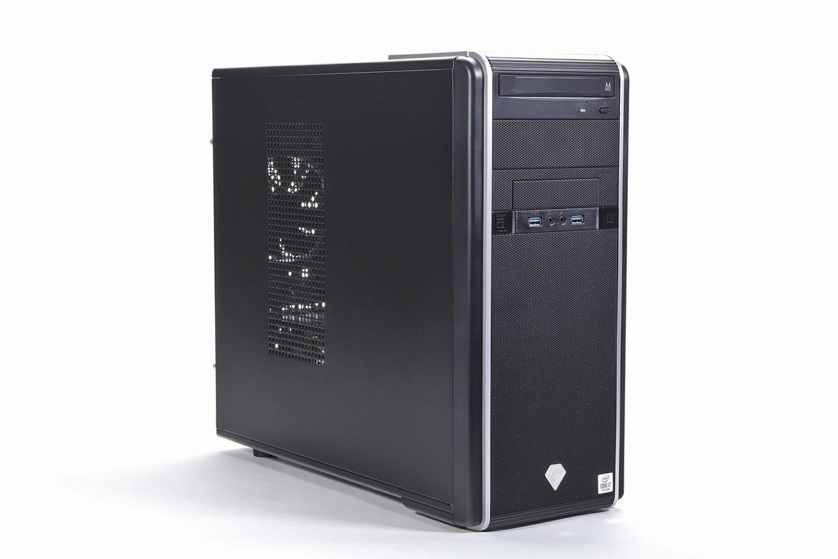 ツクモのゲーミングBTO PC「G-GEAR GA7J-F210/T(カスタマイズモデル)」。
