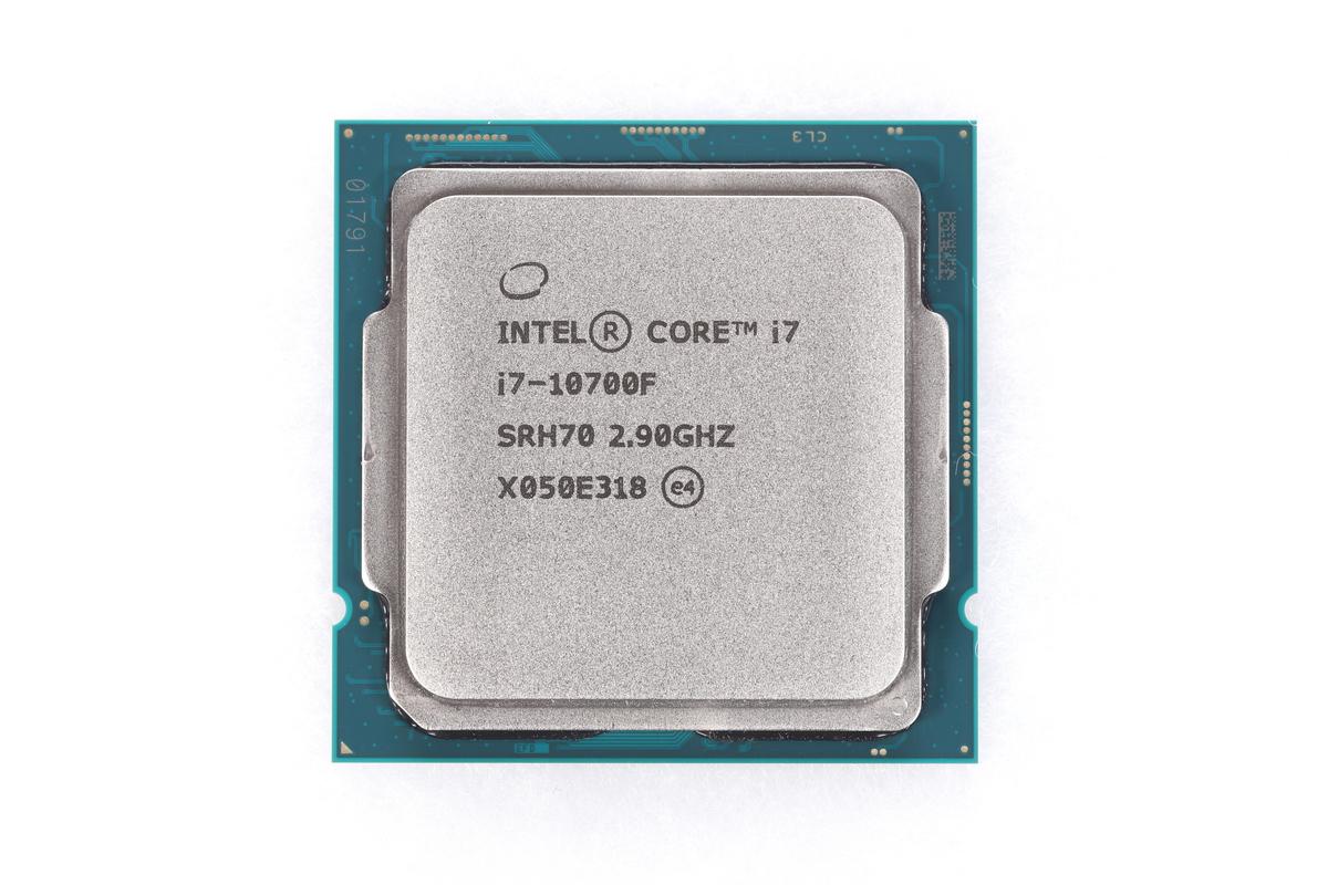 最大4.8GHzで動作する8コア16スレッドCPU「Core i7-10700F」。