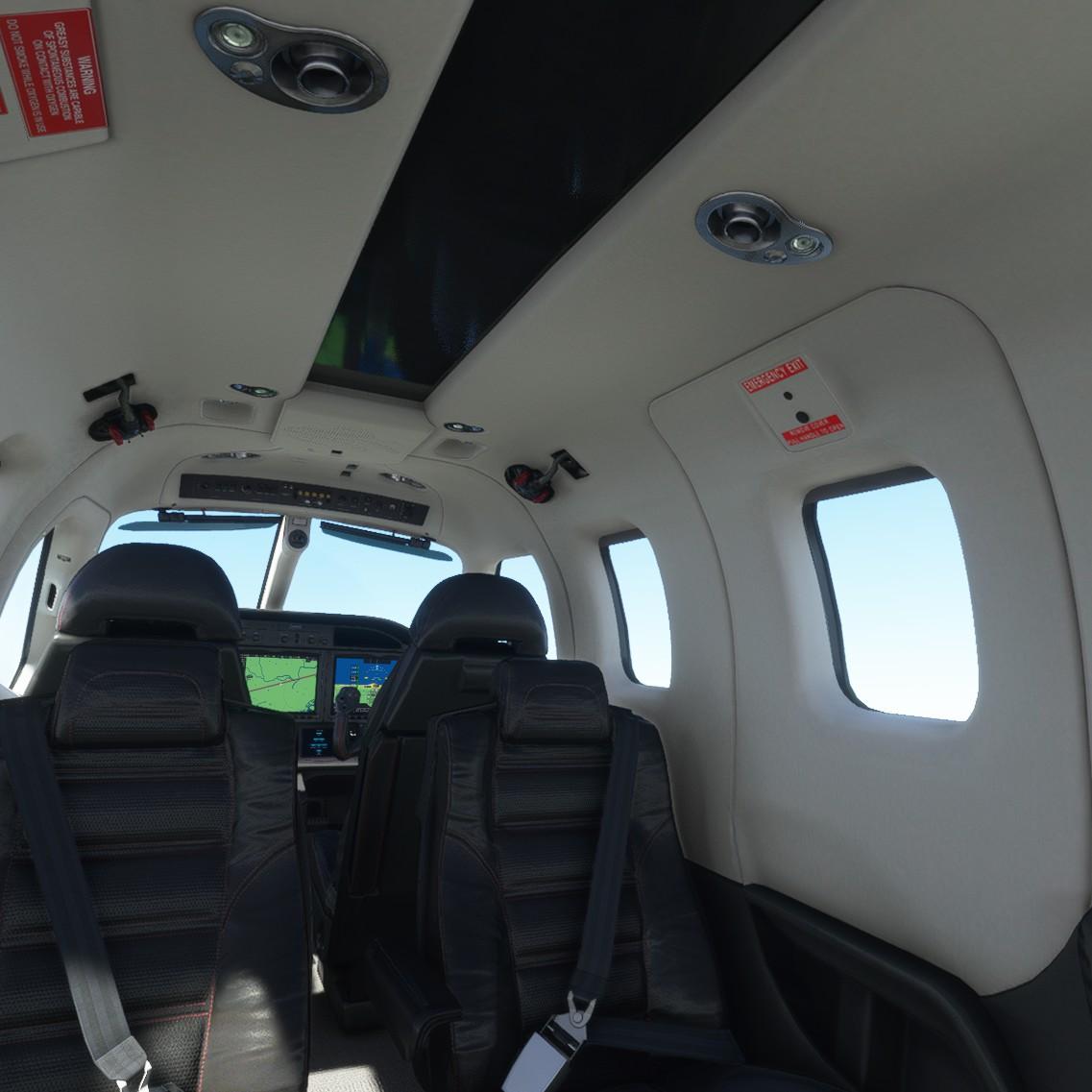 現実世界で行うことは普通には無理だが、VRなら窓から身を乗り出して機外の様子を確認することもできる。小型機であれば客席に移動することも可能で、操縦をAIに任せれば、乗客気分でフライトを楽しむこともできる。