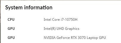 CPUにCore i7-10750H、GPUにGeForce RTX 3070 Laptop GPUを搭載する「GP66-10UG-252JP」のゲーム性能はかなりパワフル、コンセントがあれば、ちょっとしたカフェスペースでもデスクトップのゲーミングPCで遊ぶような本格的なゲームが遊べる。