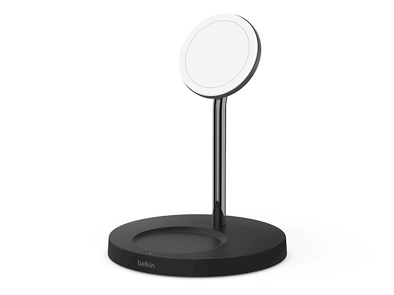 BOOST↑CHARGE PRO 2-in-1 Wireless Charger Stand with MagSafe