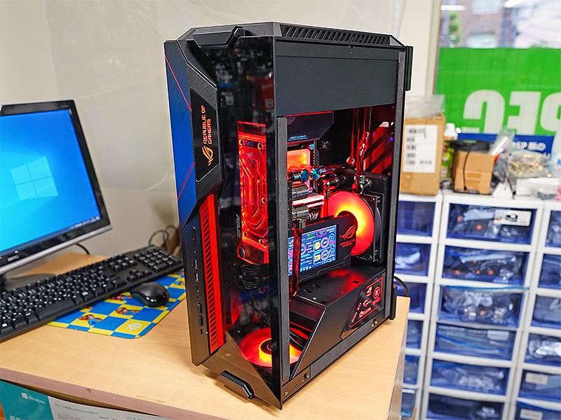 ASUS ROGをイメージにしたMOD PC