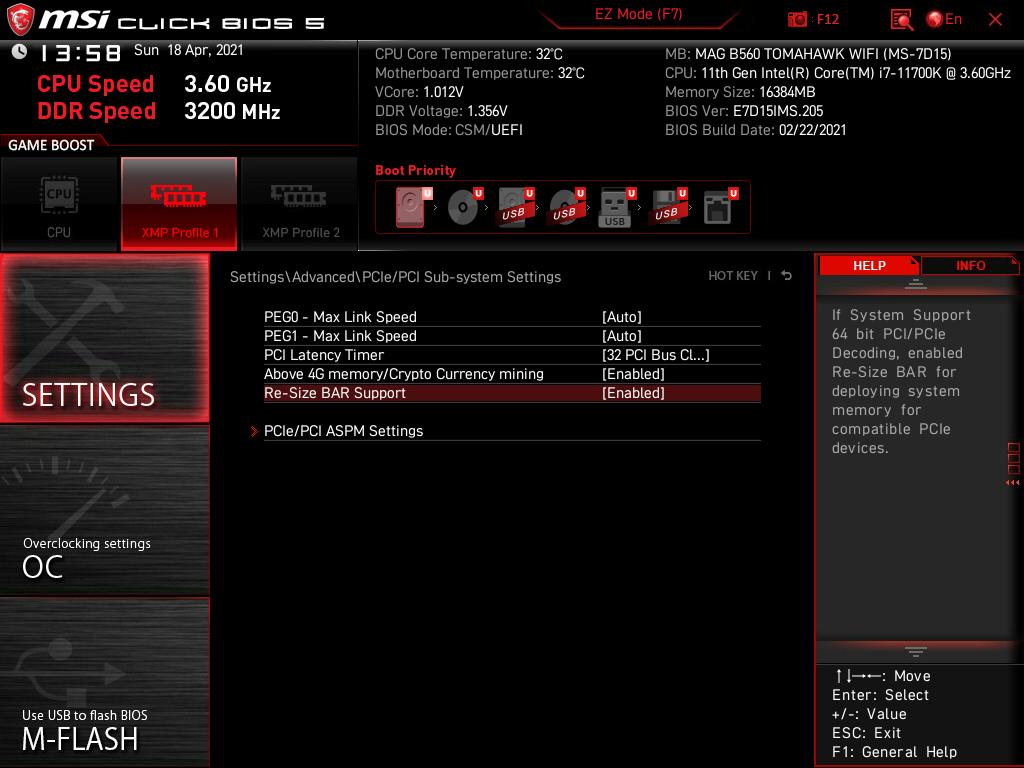 GeForce 30シリーズでも対応が進んだResizable BARにも対応する