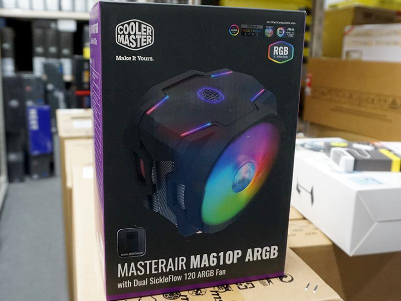 Cooler Master「MasterAir MA610P ARGB」