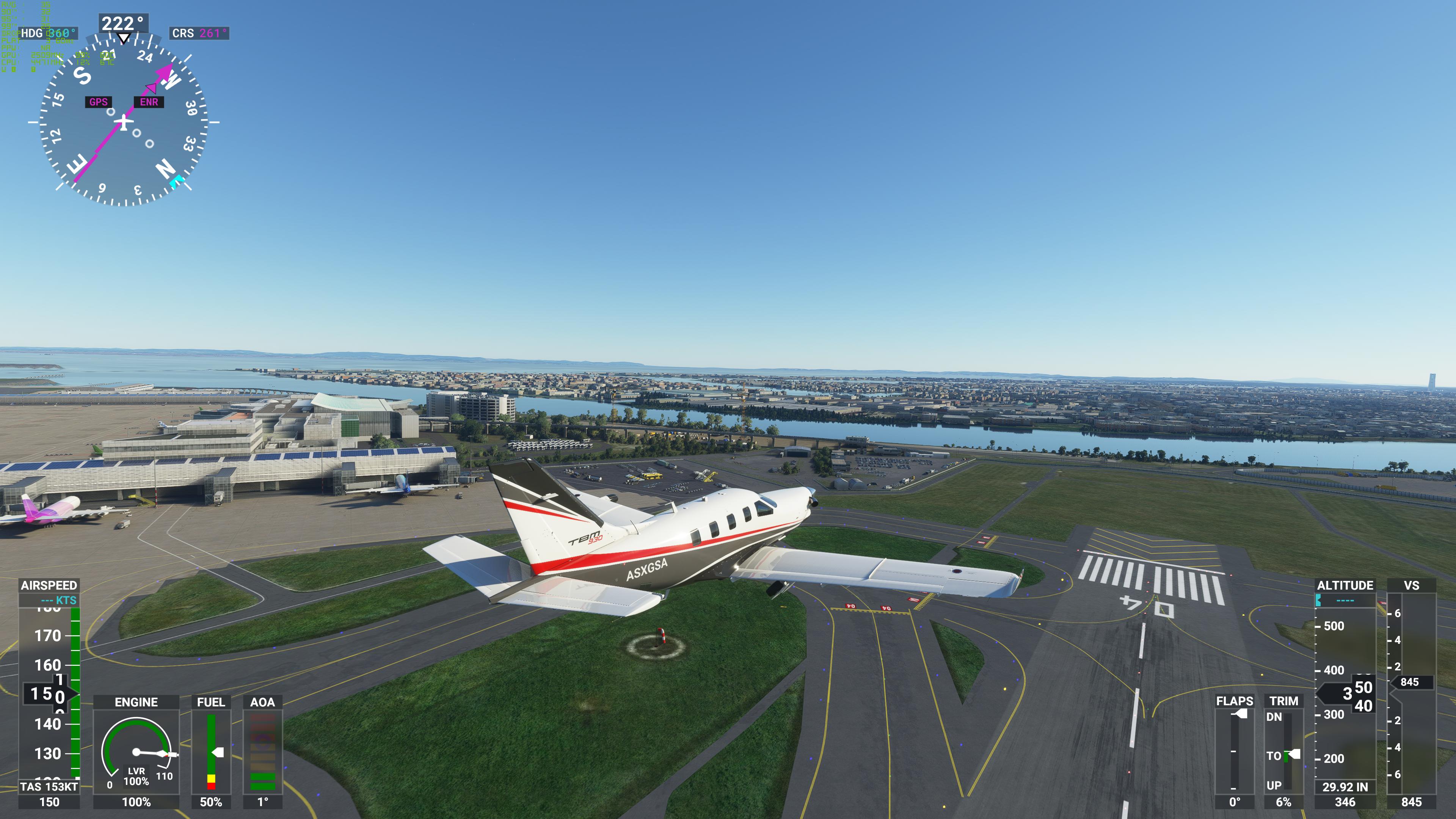 フレームレートが低下しやすい低空飛行時でも、4K解像度で30fps以上をキープできている。