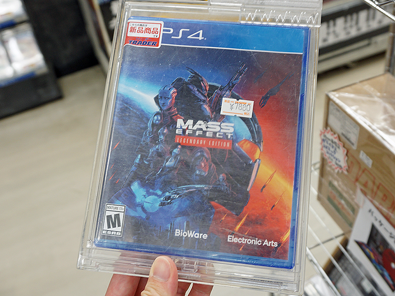 """Mass Effect Legendary Editionの海外パッケージが<a href=""""http://www.trader-chaos.jp/"""" class=""""deliver_inner_content i"""">トレーダー 秋葉原本店</a>に入荷"""