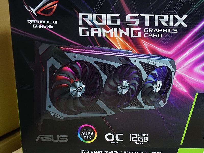 ASUS「ROG-STRIX-RTX3080TI-O12G-GAMING」