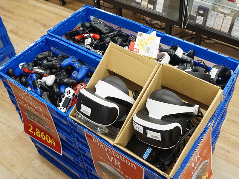 PlayStation 4やNintendo Switch向け周辺機器のジャンク品が各種販売中