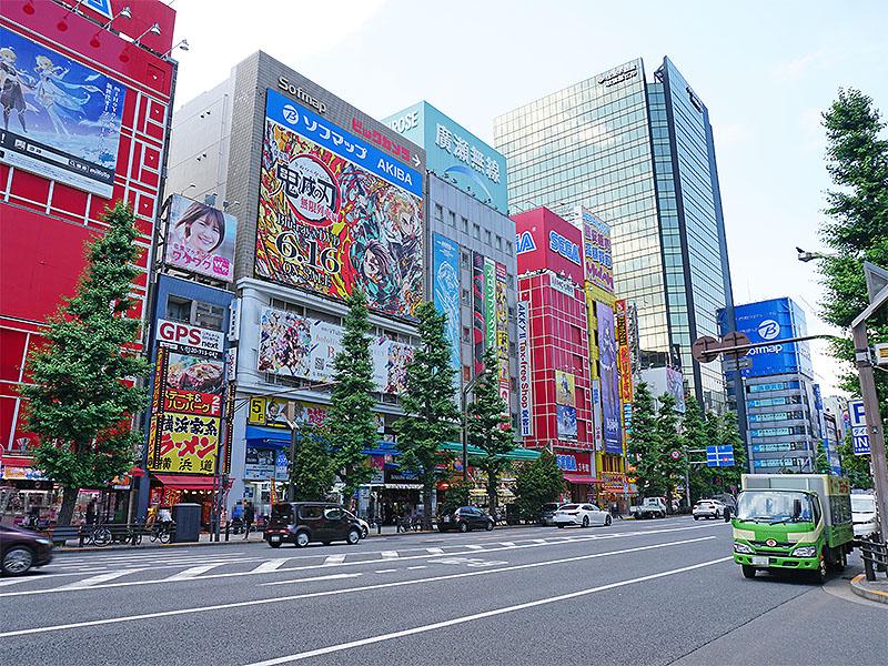 秋葉原 中央通りの様子(6月24日撮影)