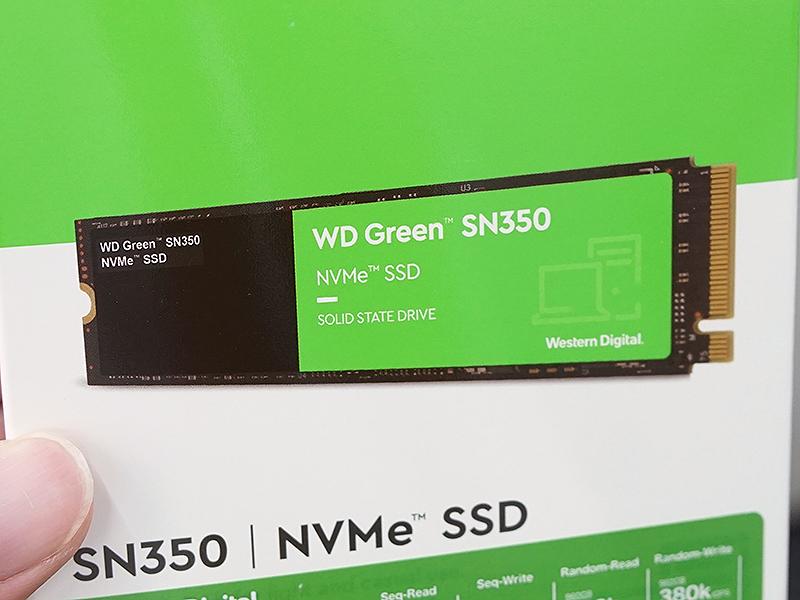 WD Green SN350 NVMe SSD