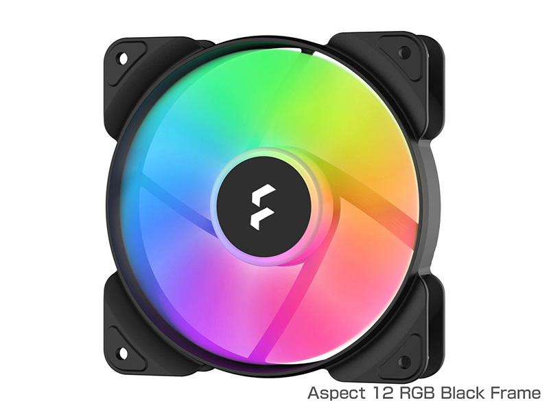 Aspect RGBシリーズズのブラックとホワイト