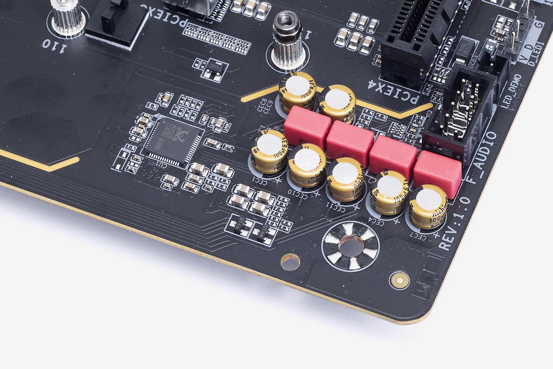 オーディオコーデックは定番の「ALC1220-VB」。リアルなサラウンドが楽しめるDTS:X Ultraをサポートする