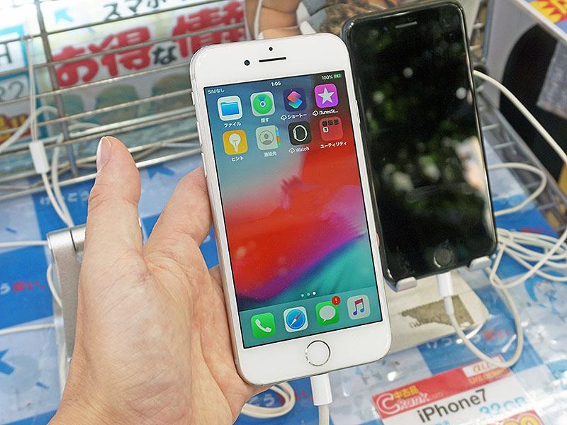 iPhone 7のCランク中古品