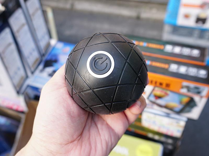 USB充電式の電動マッサージボール「デラスター Buru ボール」