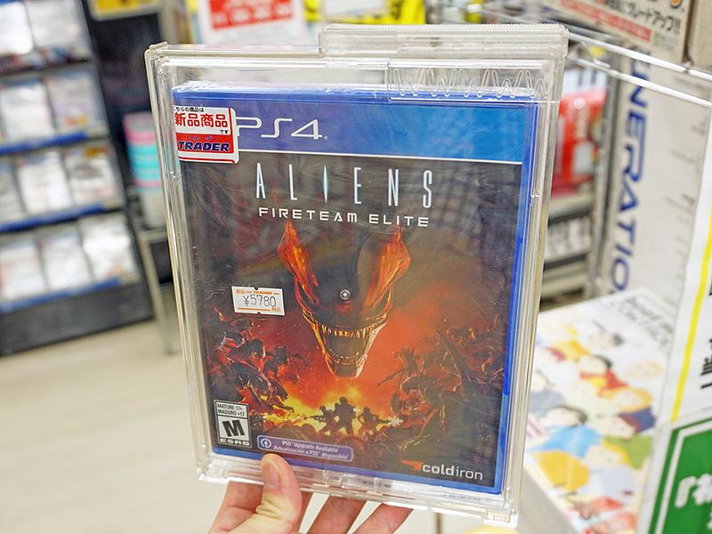 Aliens: Fireteam Elite(エイリアン : ファイアーチーム エリート)の海外パッケージ版。なお、国内版は9月16日(木)に発売予定