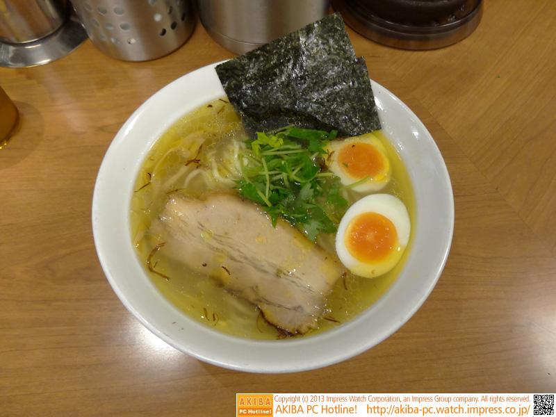 「香味浅利そば」(味玉追加)950円