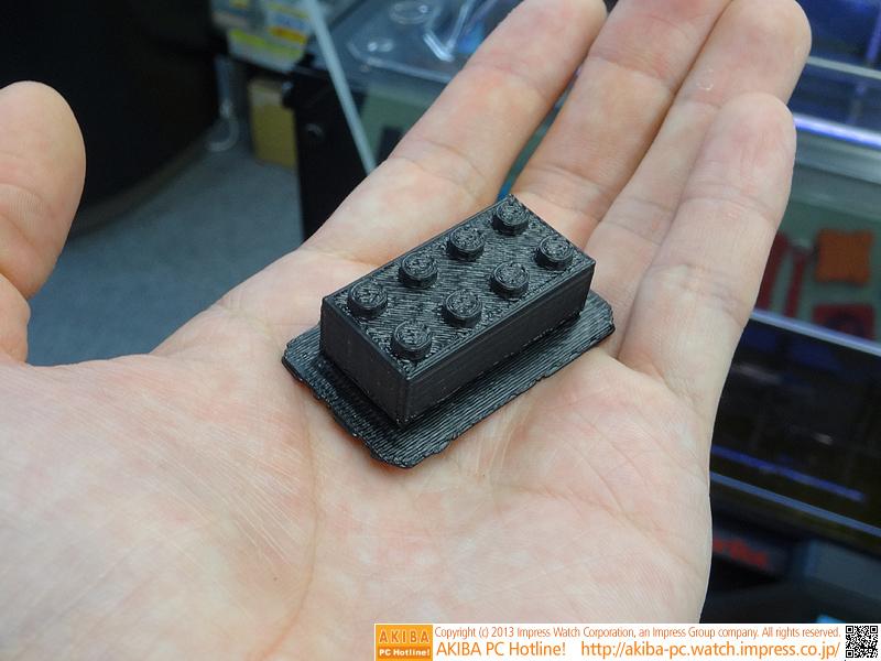 ブロックの完成サンプル(表面/黒色)